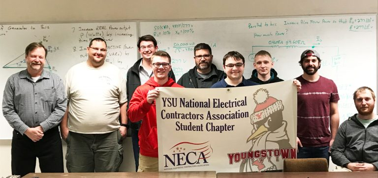 YSU Student NECA Chapter generates proposal for energy challenge